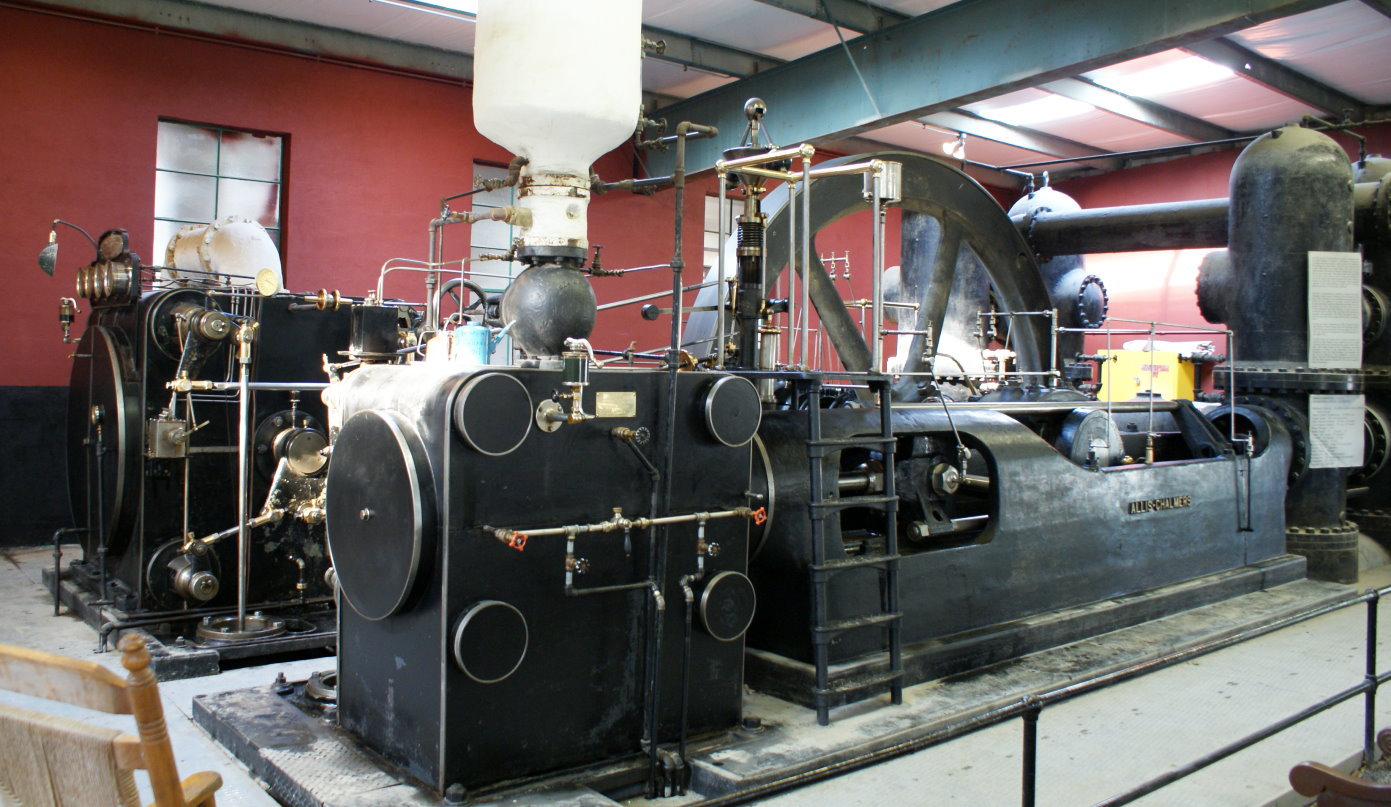 Steam on 1900 Generator House