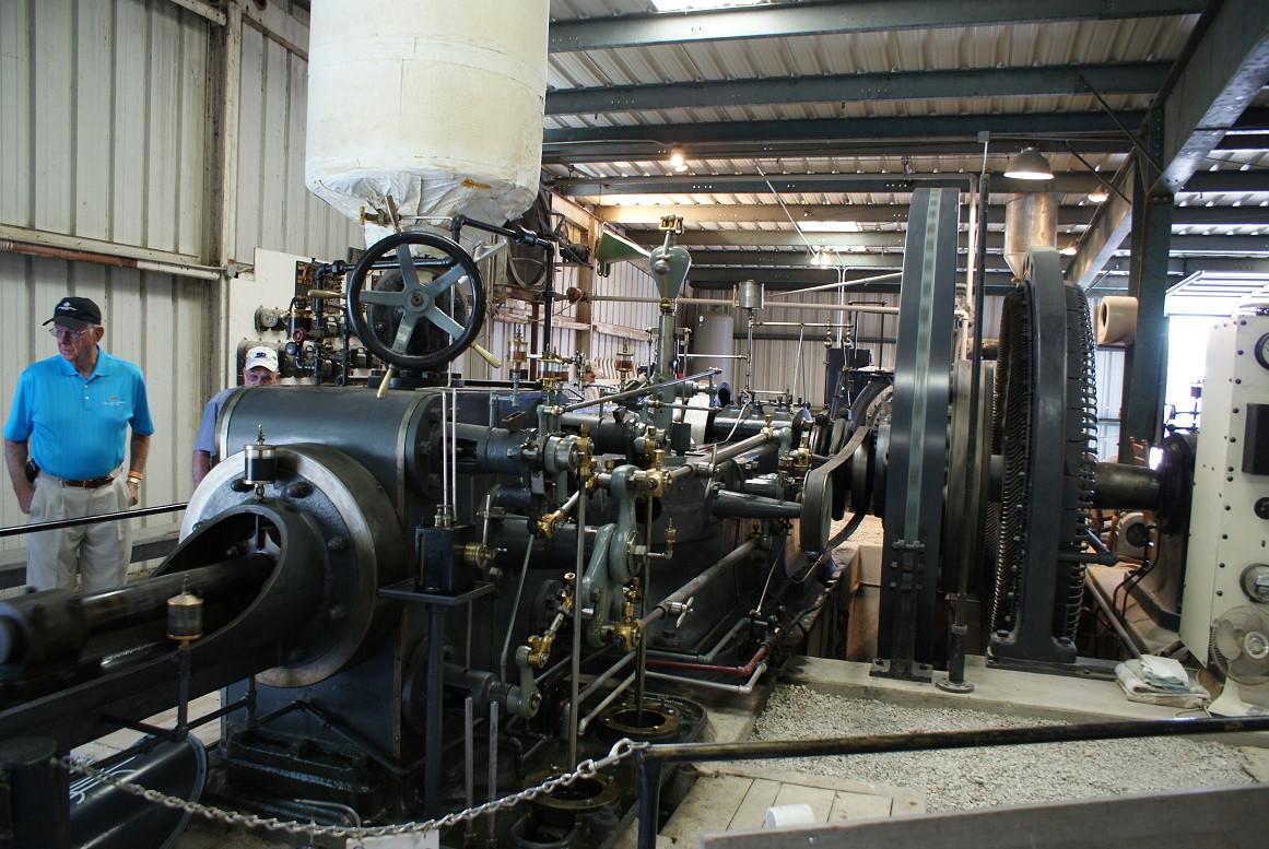 Steam on 1900 Generator House